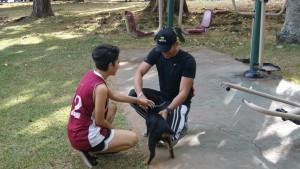 En el Parque Benito Juárez tanto niños, adultos y sus mascotas pueden pasarla muy bien.