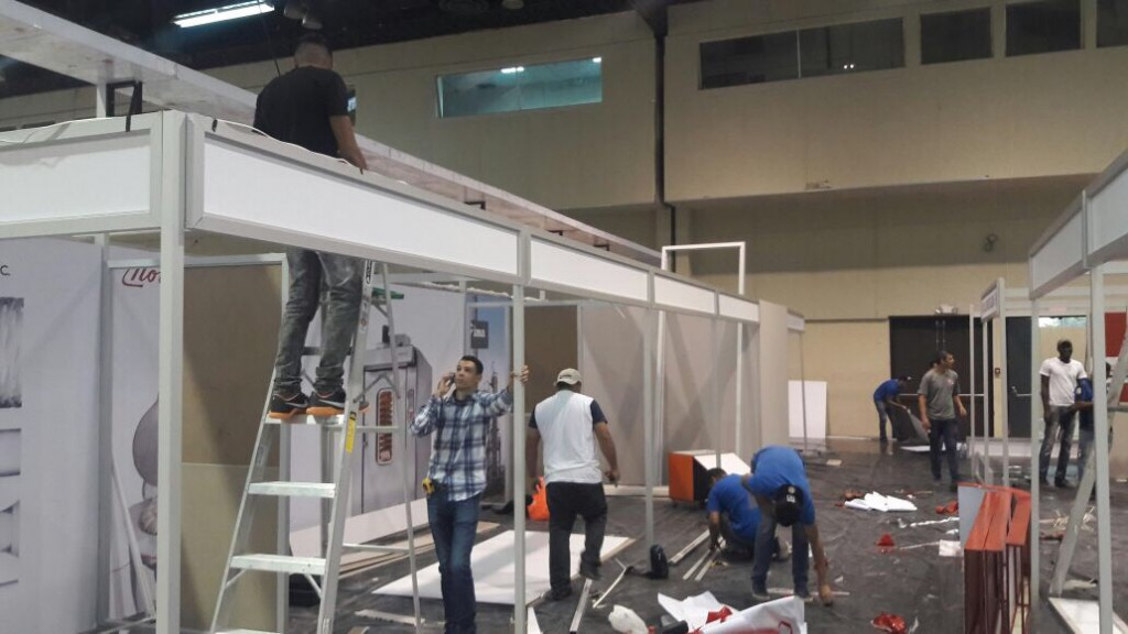 El evento ferial ocupara 8 mil 175 metros cuadrados del Centro de Convenciones Atlapa entre el área interna y externa, conformado por 576 módulos de exhibición | Foto: Octavio Quiroz