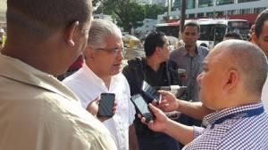 El alcalde José Blandón dijo que que la obra lleva más de un 25 por ciento de avance