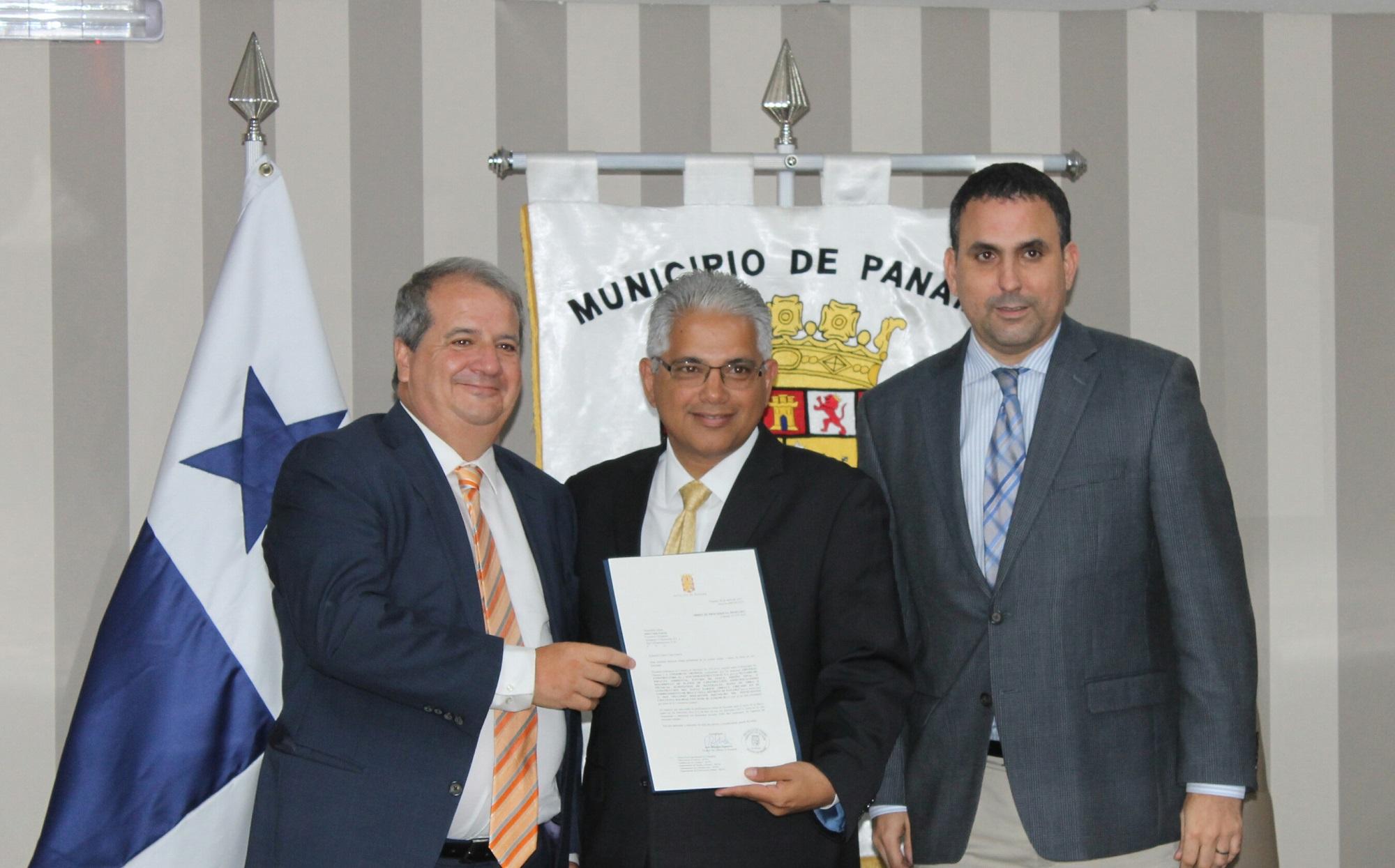 Alcaldía de Panamá firma orden de proceder para e Parque Urracá con el Consorcio Gupmas.