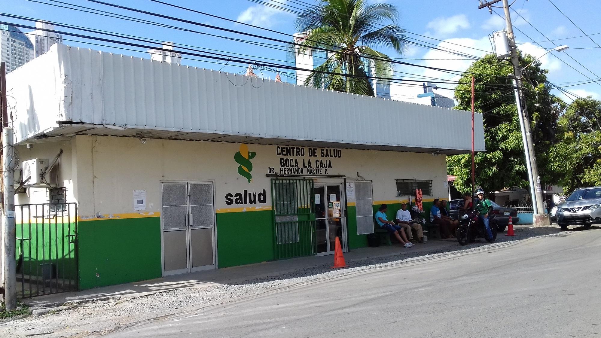 El Centro de Salud Dr. Hernando Martiz Pujol en Boca La Caja