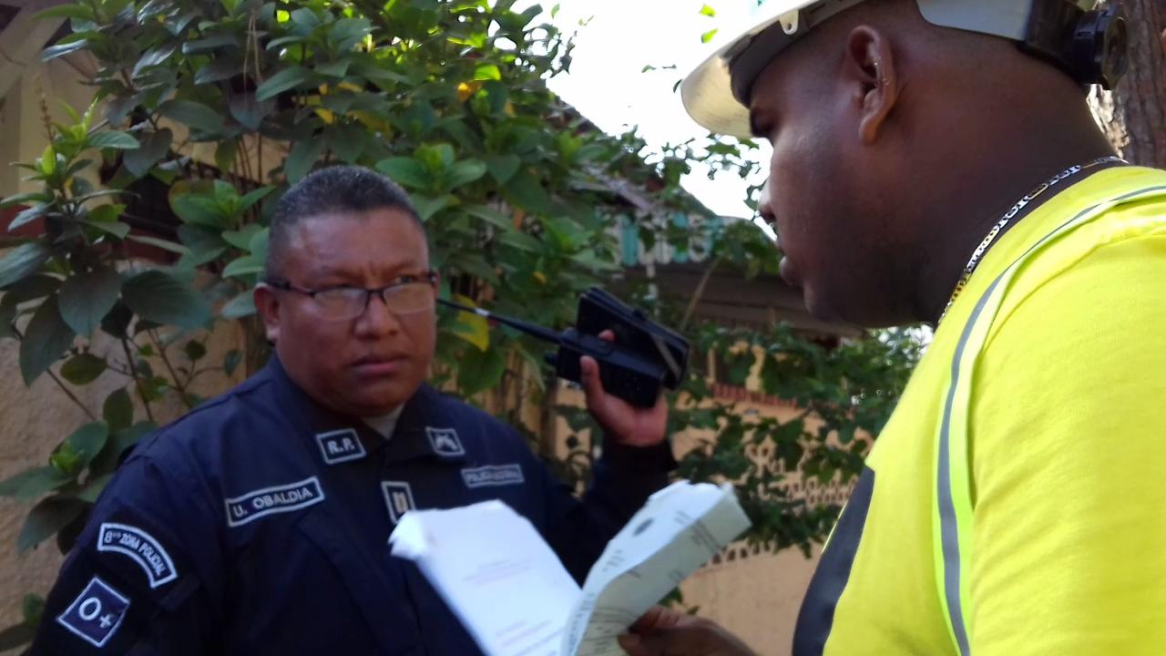 Oficial Obaldía constata permisos de PH Buonavista. Aunque ATTT otorgó autorización sin delimitar días de trabajo, obra no cuenta con aprobación de alcaldía.