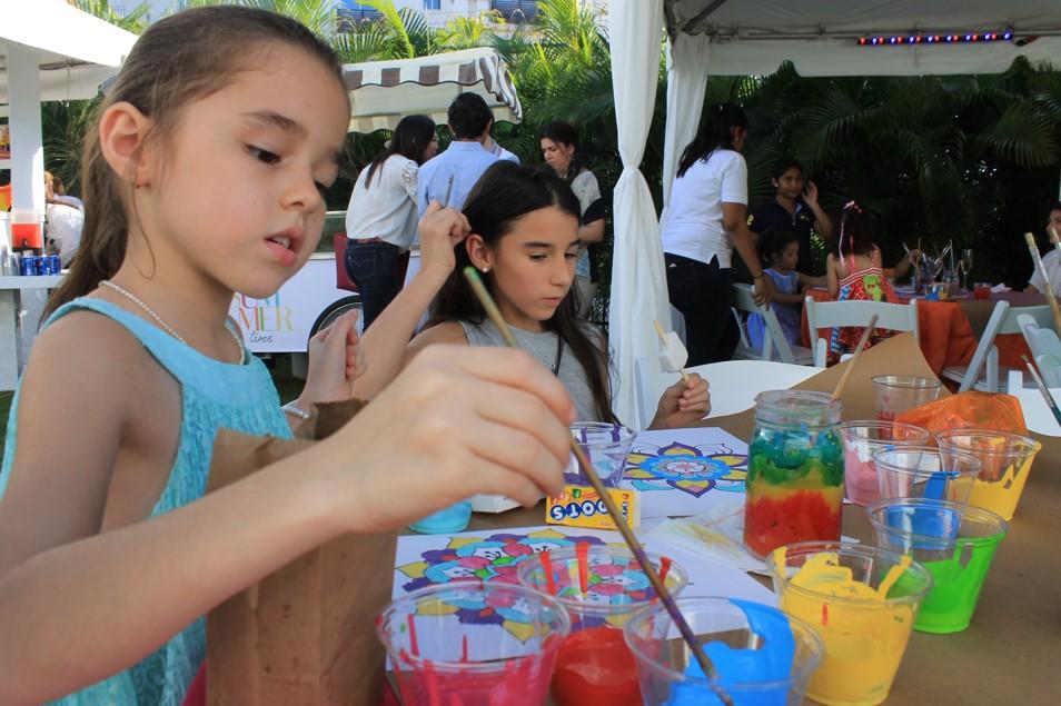 Los niños fueron quienes más disfrutaron | Foto: Andreina Rodríguez