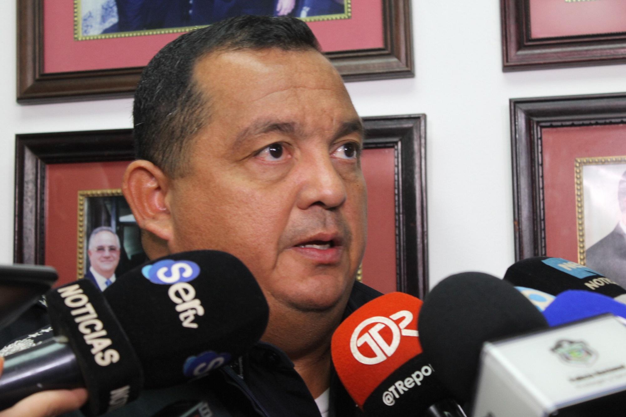 Omar Pinzón, director de la Policía nacional.