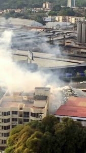 Las emisiones de humo afectan a todos los vecinos a diario.