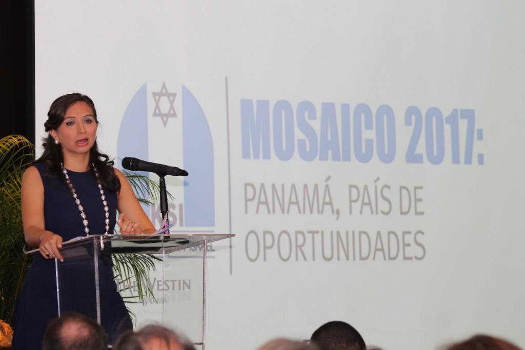 María Luisa Romero, ministra de Gobierno de la República de Panamá | Foto: Andreína Rodríguez