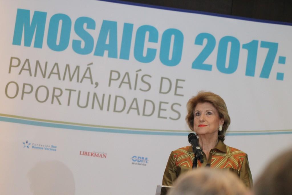 Mercedes Eleta de Brenes, presidenta  del Instituto Cultural Panamá-Israel | Foto: Andreína Rodríguez