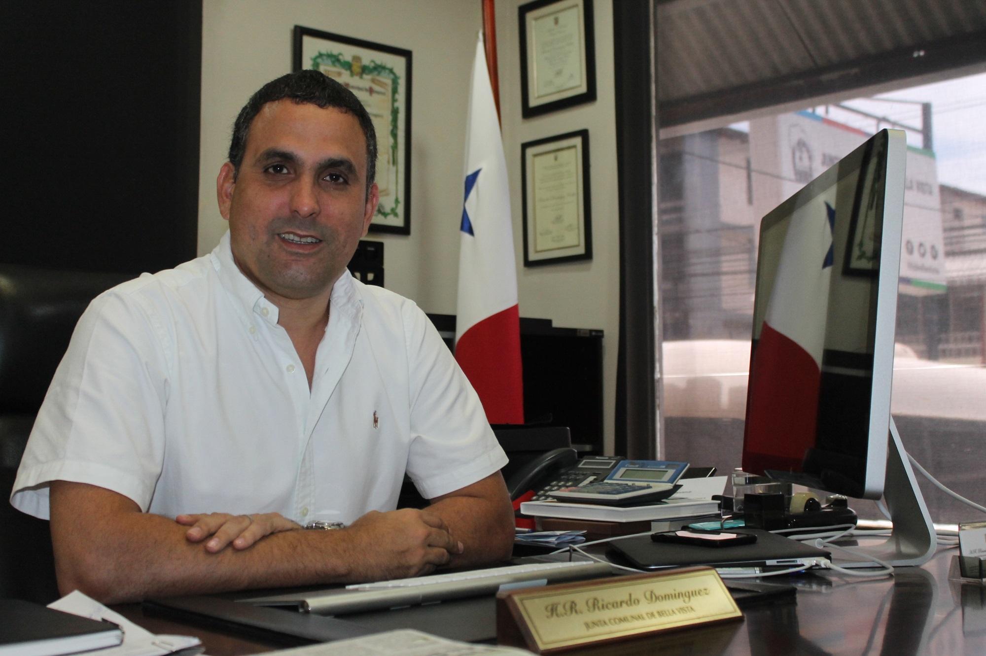 Ricardo Domínguez, representante del corregimiento de Bella Vista