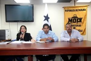 Representantes del MOP dieron a conocer los detalles de la venidera licitación.