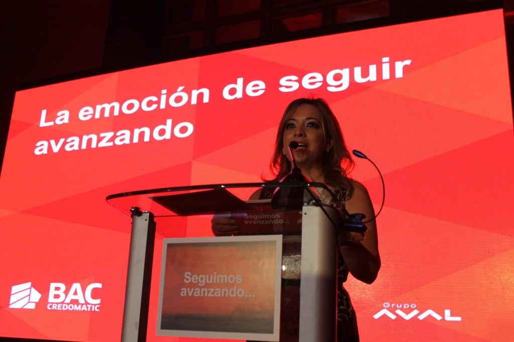 Ariadne Castrellon, vice presidenta de comunicaciones de BAc Credomatic.