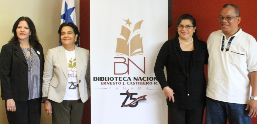 Guadalupe Rivera, directora técnica_ María Majela Brenes, directora general_ Briceida Joyce, directora de Sello Editorial y Mario Hudson, curador.