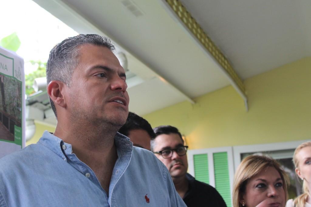Carlos Pérez Herrera elogió la iniciativa y ofreció su respaldo a los vecinos y promotores