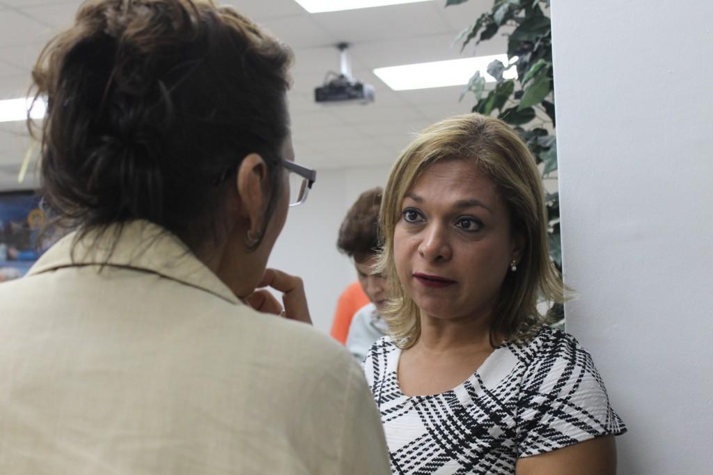 La voz de los vecinos será la voz de Carlos Pérez Herrera, anunció Nadja Rosas, representante suplente del corregimiento de San Francisco en su nombre.