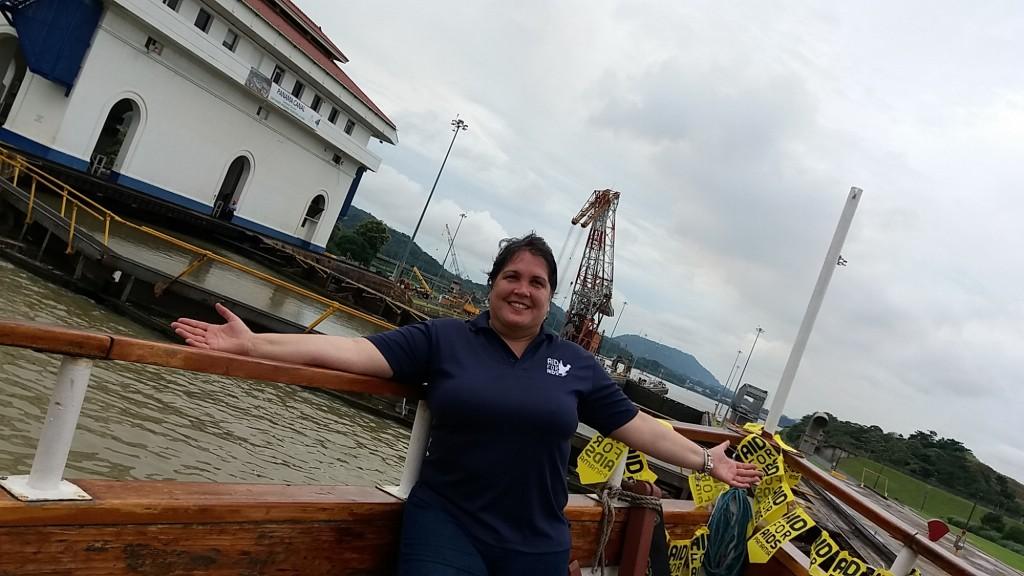 Trina María Aguais es la fundadora y directora de Aid for Aids en Panamá.