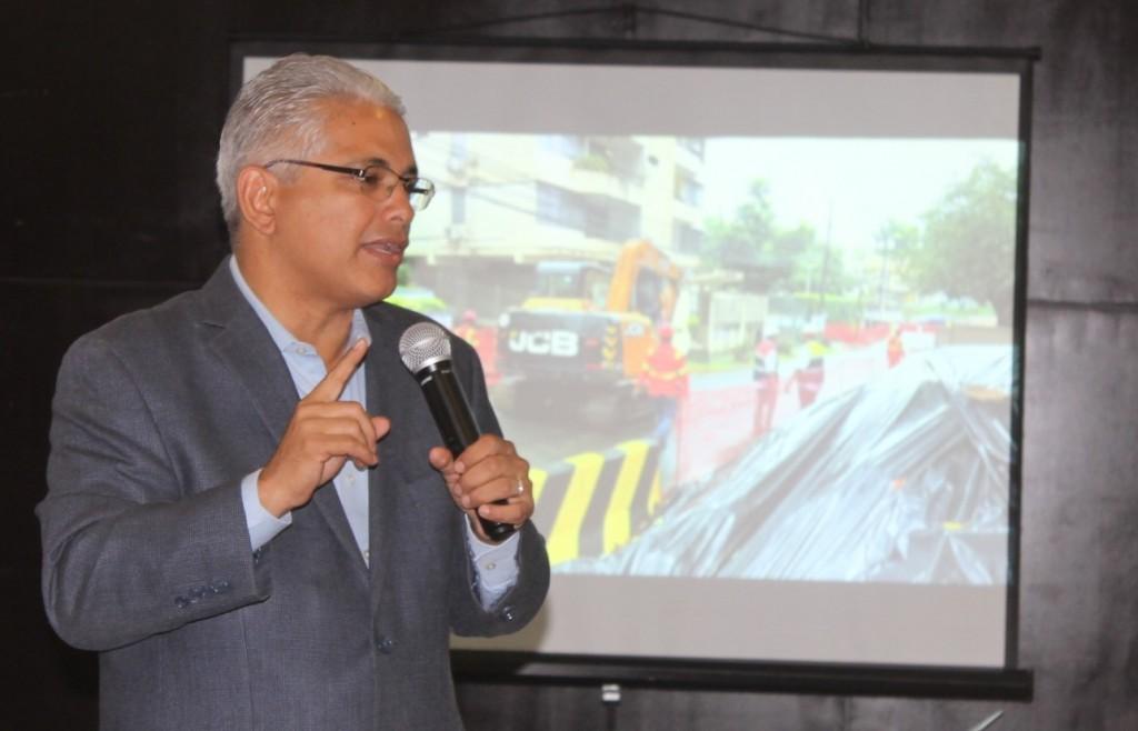 """Alcalde José Blandón: """"Incluso, la arborización se está planteando en base permitir una mejor movilidad y un ambiente más confortable para el peatón."""