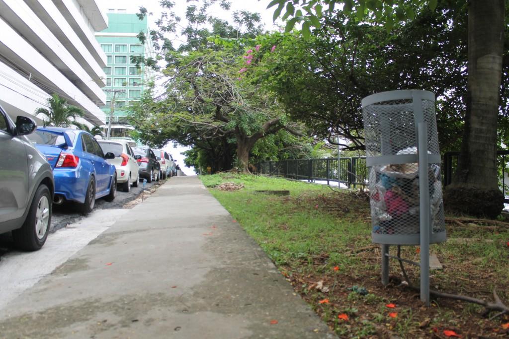 La Junta Comunal dispuso nuevos tinacos, evitando se repita la disposición desordenada de desechos.
