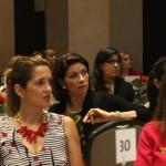 La diputada Ana Matilde Gómez, entre las invitadas principales al evento.