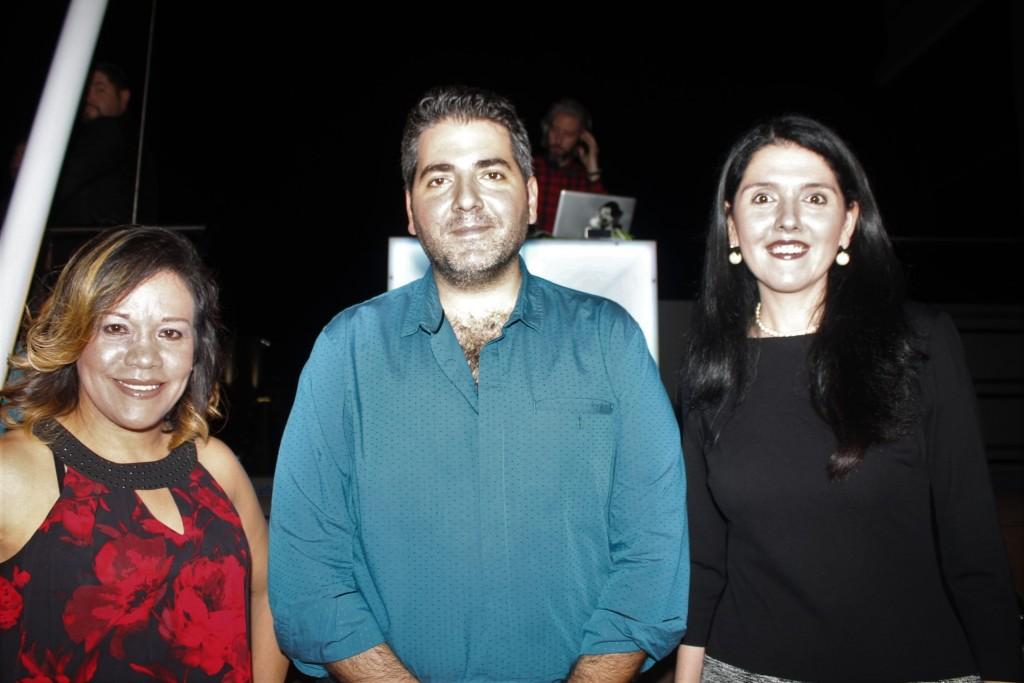 Janeth Moreno, Mauricio Esses, Ariela Esses de Sultán.