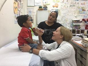 Unos 25 niños fueron atendidos en esta jornada conjunta de médicos panameños y norteamericanos.