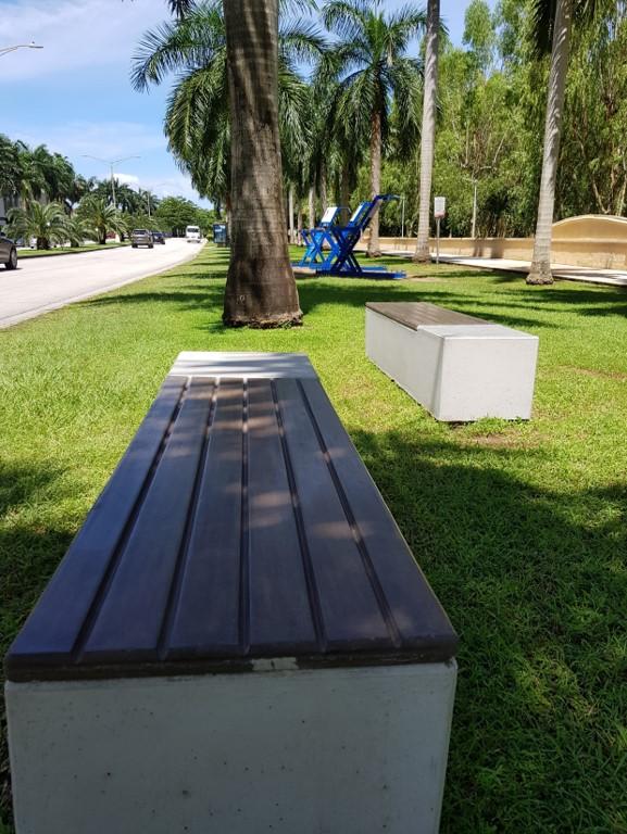 Ahora, las visitas al Paseo Motta son más placenteras, al haber en varios lugares, sitios donde sentarse.
