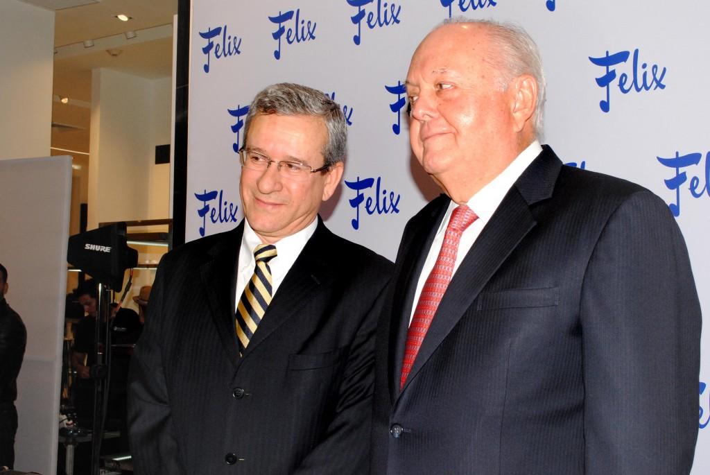 Luis Ríos y Bolívar Vallarino Strunz, gerente general y presidente de la junta directiva de Felix B. Maduro, respectivamente | Foto: Rolando Paz