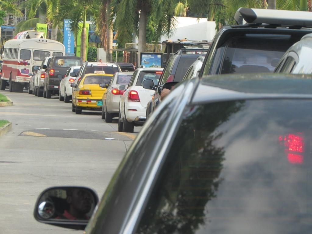 La congestión se produce en las principales avenidas de CDE | Foto: AR